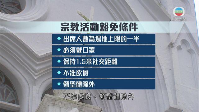 限聚令延長14天 宗教活動豁免