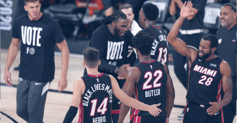 2020 NBA季後賽東冠G6:綠衫軍調度失當,熱火挺進冠軍賽