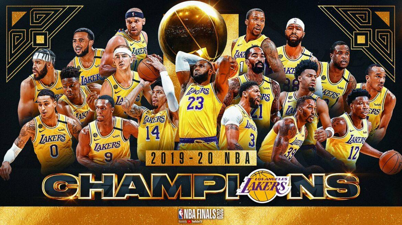 NBA 2019-2020 CHAMPION