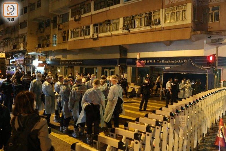 佐敦「受限區域」圍封禁足 居民須強檢冀48小時內完成
