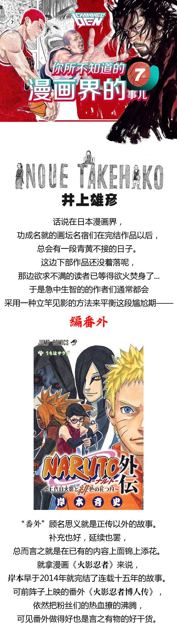 井上雄彦:你一定不了解的番外故事